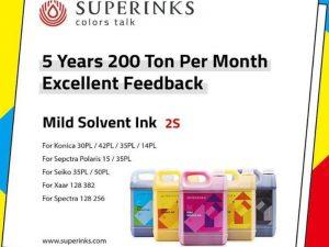 Superinks Mild Solvent Ink