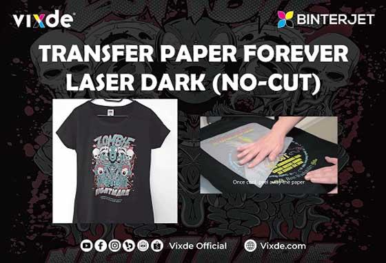 Transfer paper binterjet